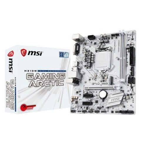 MOTHER MSI (1151) H310M GAMING ARCTIC