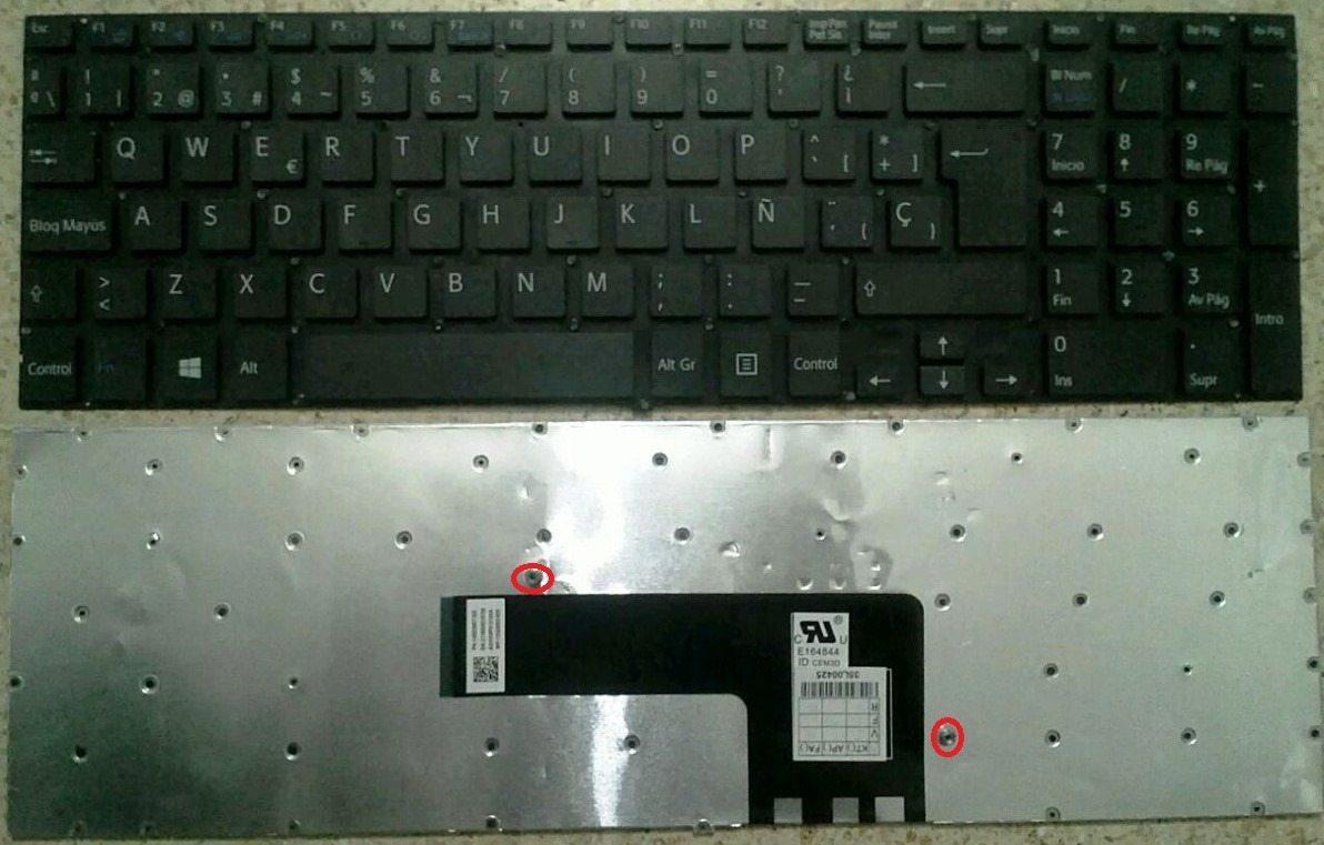 Teclado Sony Svf152 Svf153 Svf1521a1e Svf1521a2e Svf152c29m 1